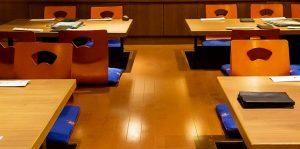 掘りごたつ席|赤坂のサムギョプサルが美味しい韓国料理店「やさい村大地赤坂田町通り店」