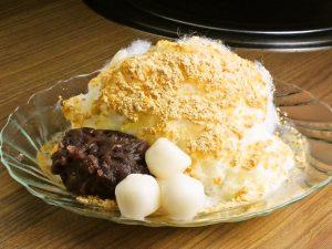 赤坂の焼肉店でふわふわかき氷「パッピンス」を味わう