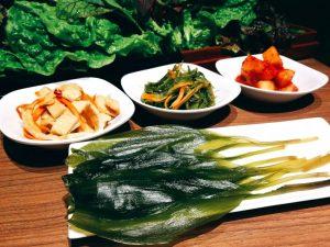 赤坂の韓国料理専門店【やさい村大地 赤坂田町通り】のミョンイナムル