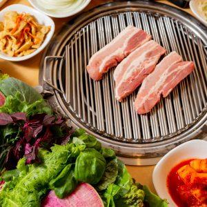 コース 赤坂のサムギョプサルが美味しい韓国料理店「やさい村大地赤坂田町通り店」
