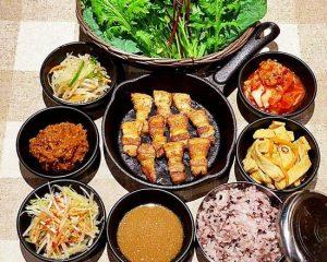 サムギョプサル弁当 赤坂のサムギョプサルが美味しい韓国料理店「やさい村大地赤坂田町通り店」