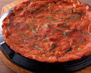 キムチチヂミ|赤坂のサムギョプサルが美味しい韓国料理店「やさい村大地赤坂田町通り店」